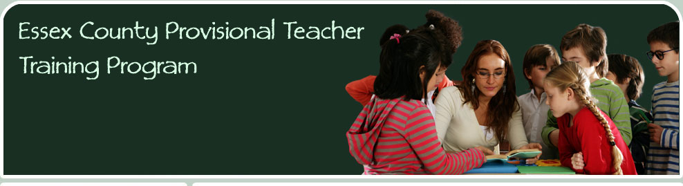 Essex County Provisional Teacher Training Program